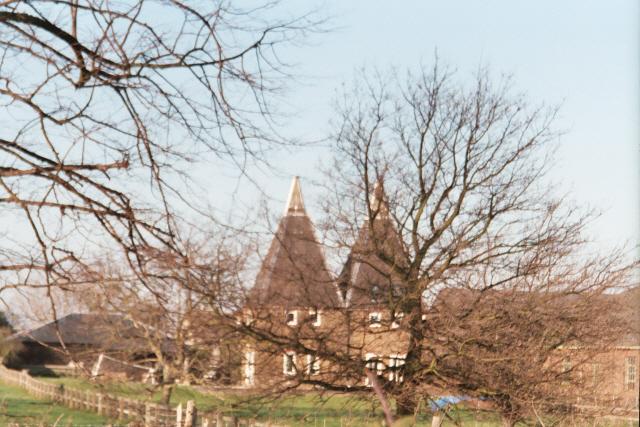 Oast houses - Higham