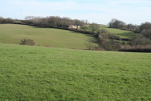 Exbourne: between the village and Lower Narracott