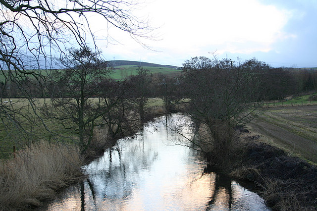 The graceful River Urie at Milton of Inveramsay.
