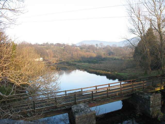 Afon Rhythallt from Pont-rhythallt bridge