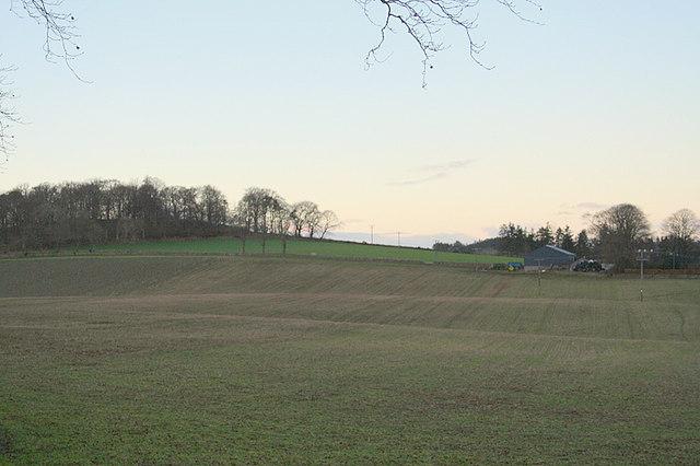 Mains of Inveramsay Farm.