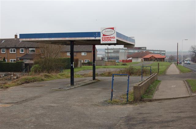 Former Petrol Station
