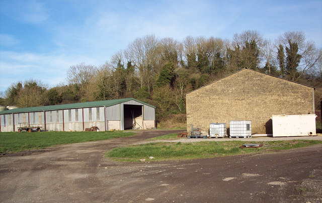 Farm Buildings near Baverstock