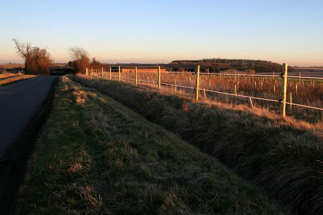 Looking towards Owens Barn Farm