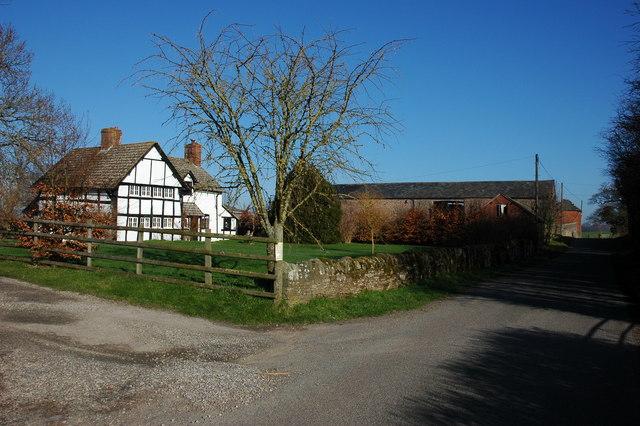 Farm at Little Dilwyn