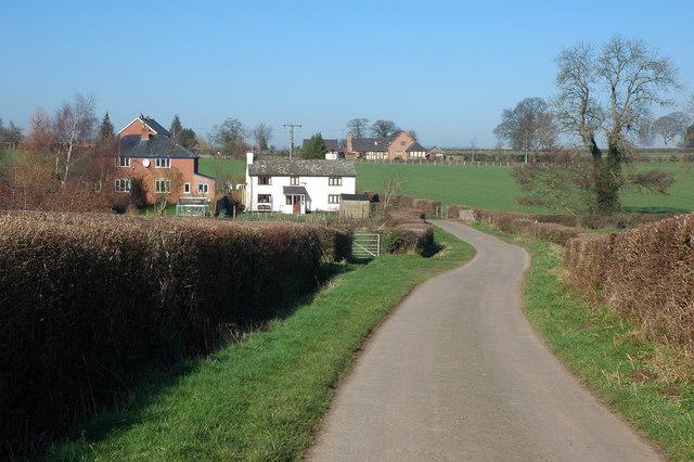 Road to Dilwyn