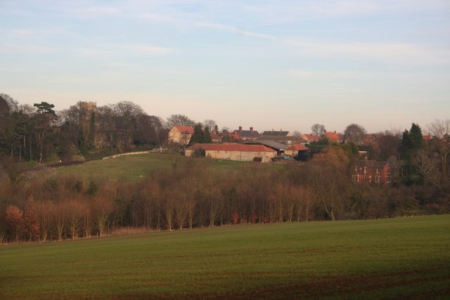 Navenby from the Viking Way