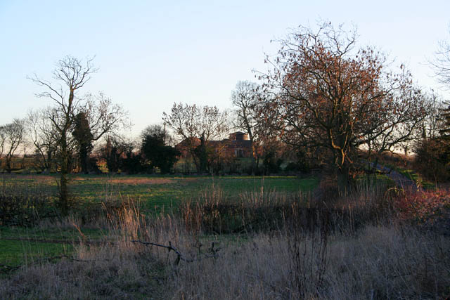Looking south to Pickworth Mill