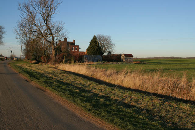 Open farmland at Hanby