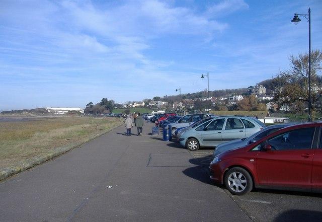 The promenade, Portishead