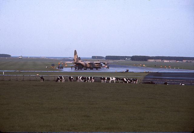 RAF Leuchars 1974