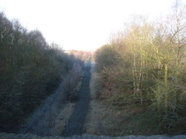 Disused railway , Cudworth Common