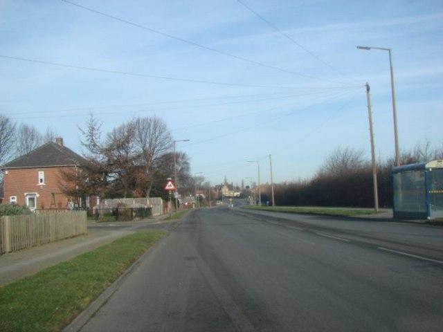 Dam Lane , looking towards Carlton