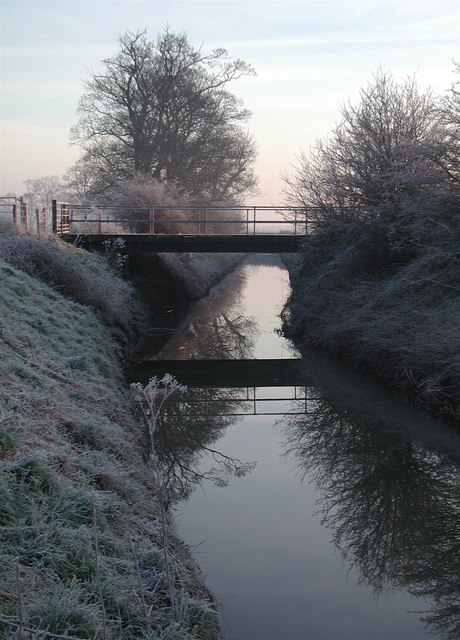Thack Carr Bridge, Burstwick