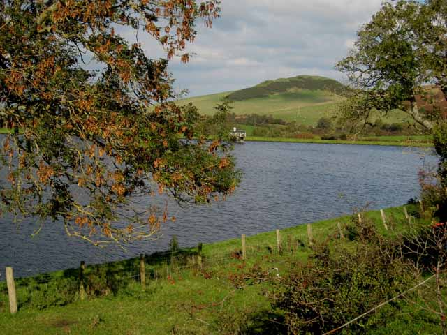 Small reservoir south of Girvan