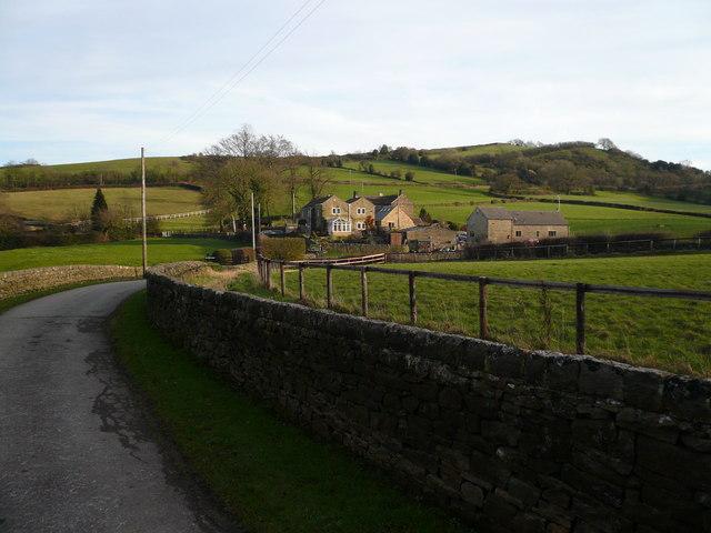 View towards Ashover Hay