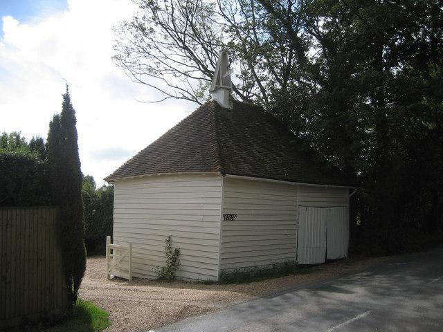 Oast House at Godwin House, Tenterden Road, Golford, Cranbrook, Kent