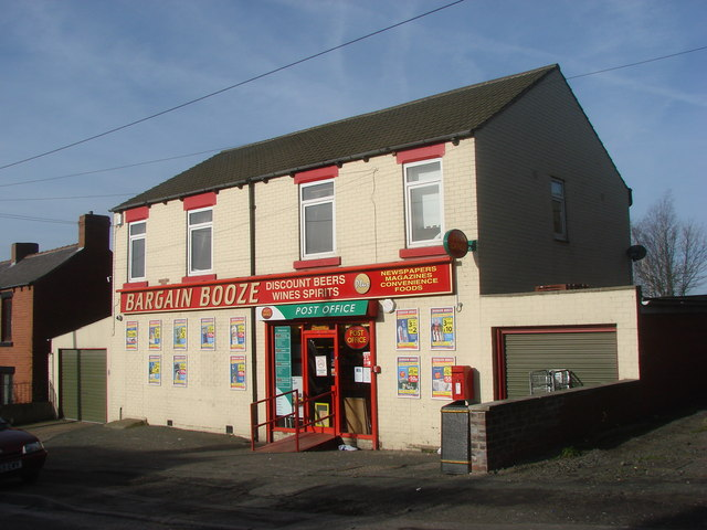 Bargain Booze and Post Office Shop, Smithies
