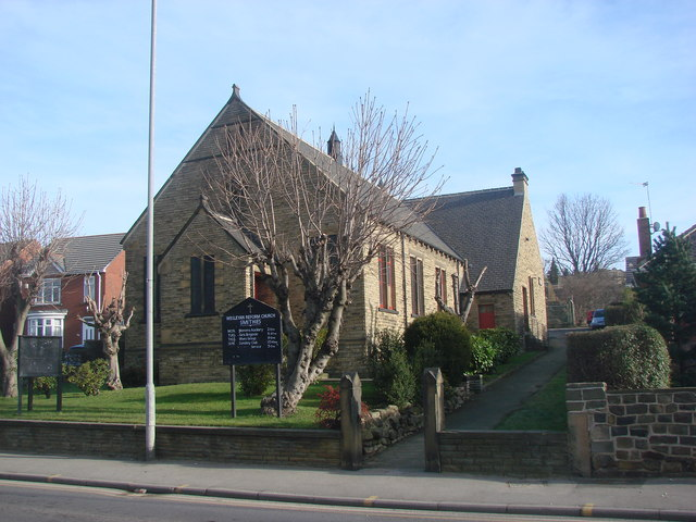 Smithies Wesleyan Reform Church, Wakefield Road, Smithies