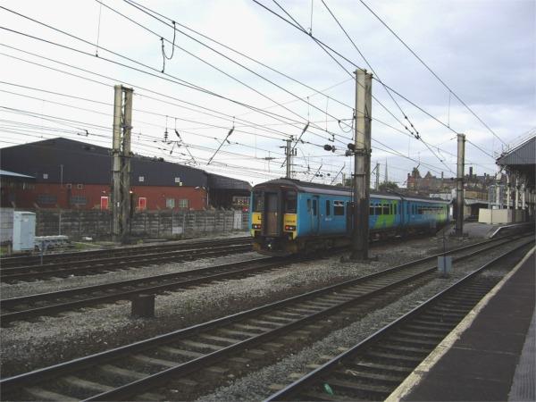 Passing Preston Railway Station