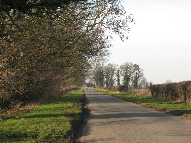 'Roman Road' near Aldborough