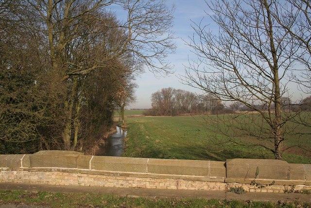 Looking north from Clay Bridge Bullington