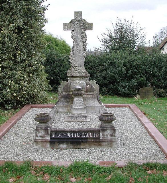 St Leonard, Old Warden, Beds - Gravestone
