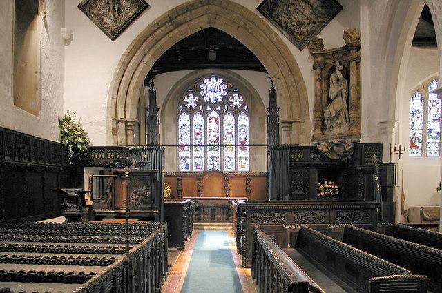 St Leonard, Old Warden, Beds - East end