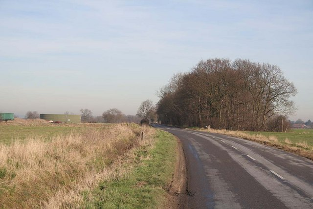 B1399 between Fulnetby and Holton