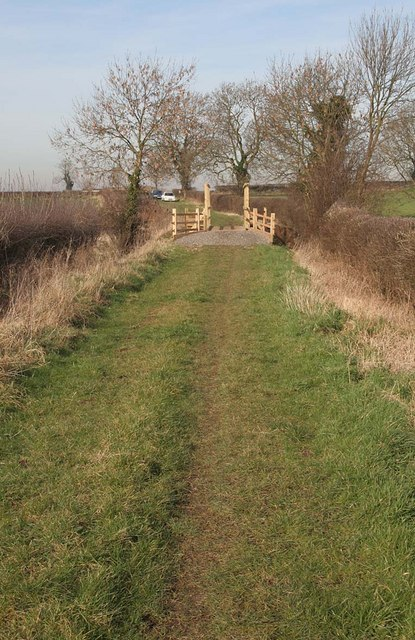 New bridge on Watery Lane bridleway near Wickenby