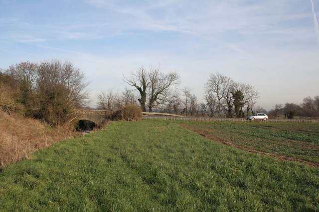 Bridge on Wragby Road between Beckering and Holton