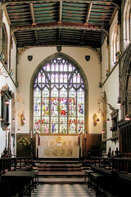 St Paul, Bedford, Beds - Chancel