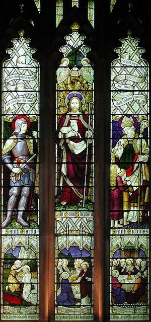 St Paul, Bedford, Beds - Window