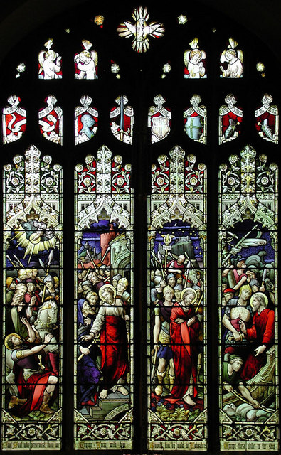 St Paul, Bedford, Beds - Window