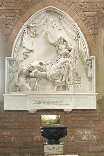 St Mary, Cardington, Beds - Monument
