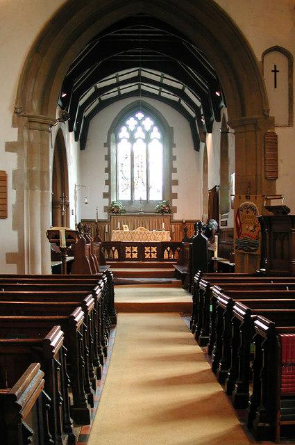 St Owen, Bromham, Beds - East end