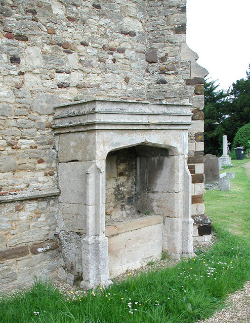 All Saints, Houghton Conquest, Beds - Recessed Tomb