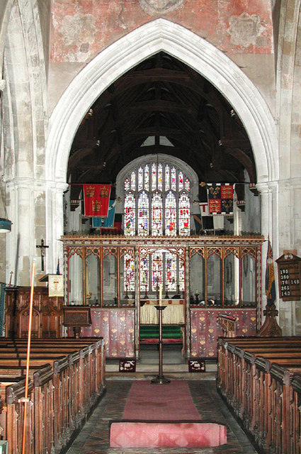 All Saints, Houghton Conquest, Beds - East end