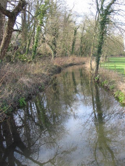 Drainage channel near Boyton