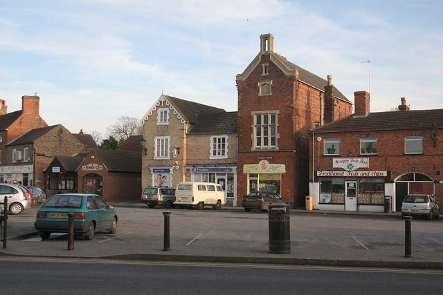 Wragby Market Place