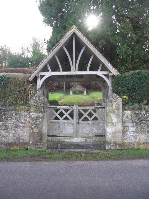 Lychgate at Corton Cemetery