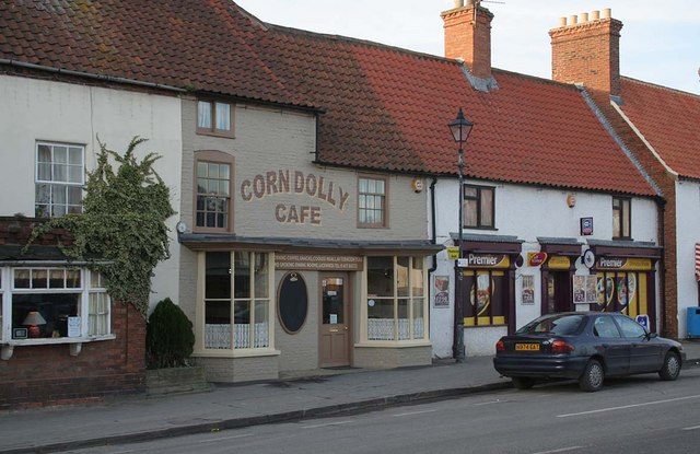 Corn Dolly Cafe, Wragby Market Place