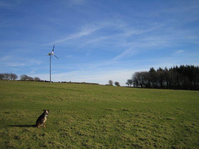 Wind Turbine, Pinkery Farm