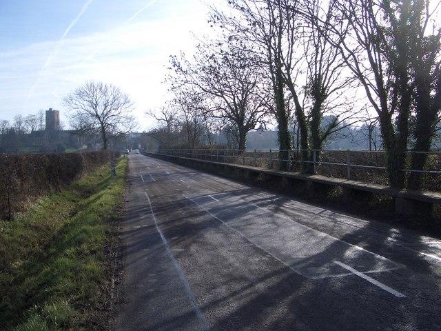 Road Liable to Flood at Felmersham