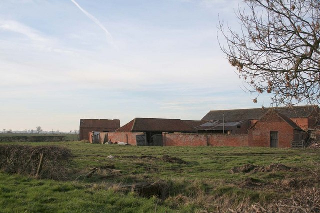 Farm buildings at West Torrington Grange
