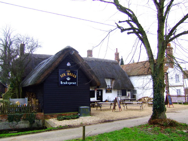 The Six Bells, Warborough