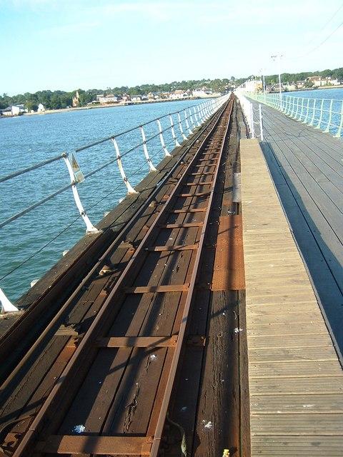 Hythe Pier Train Track