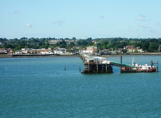 Hythe Pier from Southampton Water