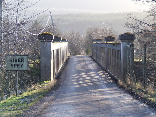 Bridge over Spey at Advie
