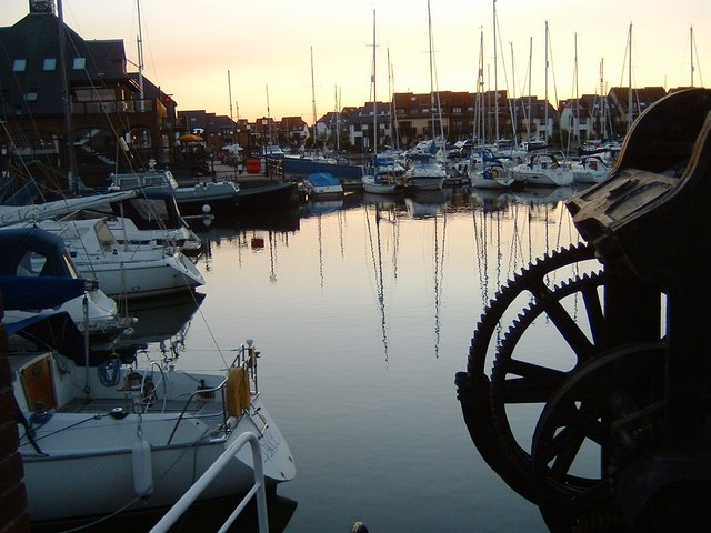 Sunset Hythe Marina Village